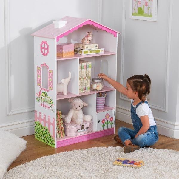 Drewniany Regał Dla Dzieci Różowy Domek Kidkraft