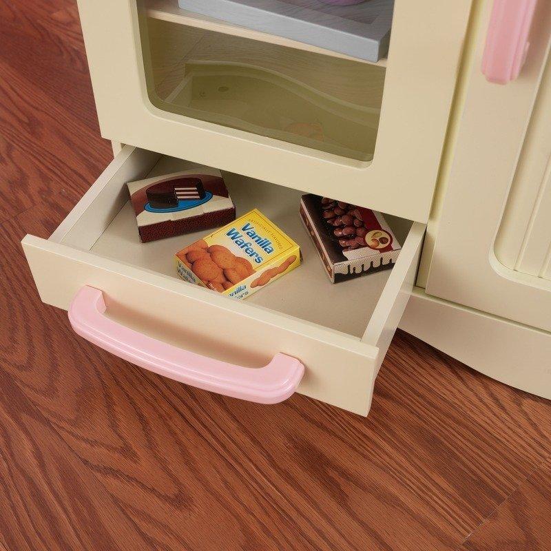 Beżowa Kuchnia Dla Dzieci Drewniana Vintage Kidkraft
