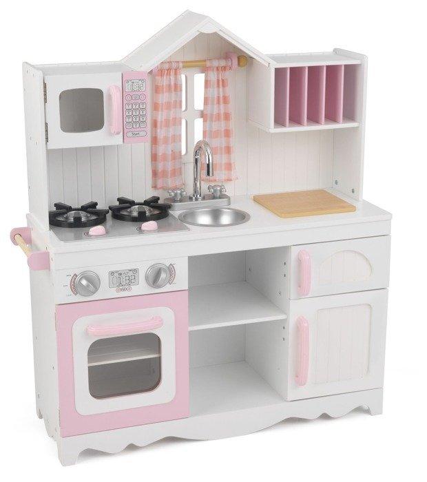 Biała Kuchnia Dla Dzieci Drewniana Z Okienkiem Kidkraft
