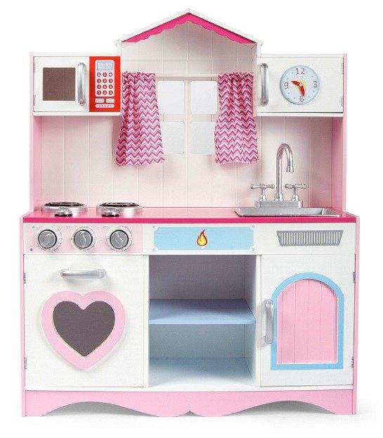 Kuchnia Dla Dziecka Z Oknem Różowe Serce Zabawa W Sklep I