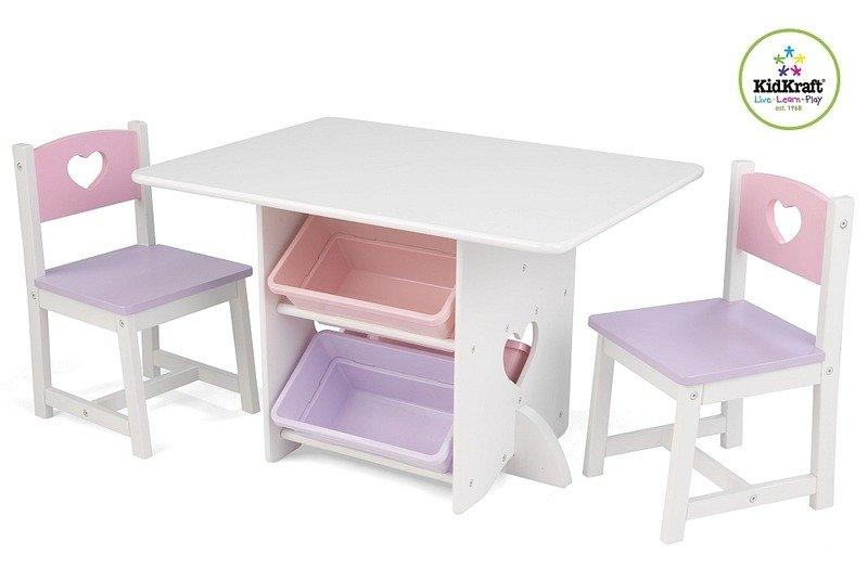 Stolik I Krzesełka Dla Dzieci Pastelowy Zestaw Z